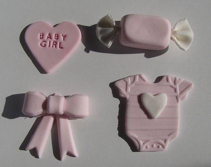 Зображення з назвою Fondant Baby Shower Decorations
