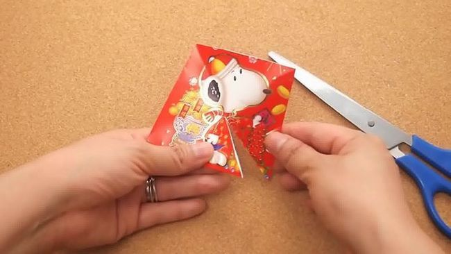 Зображення з назвою Make a Fish from a Chinese Red Packet Step 3 preview