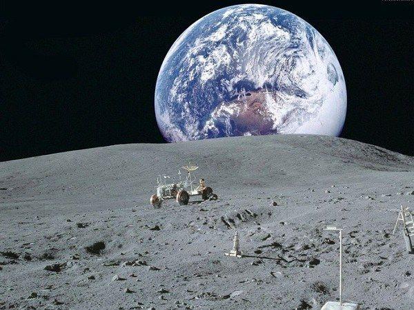 Як виглядає земля з місяця