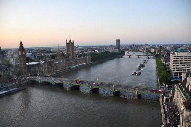 Річка в лондоні: назва, опис, особливості, тваринний і рослинний світ