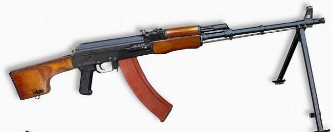 Рпк-74. Ручний кулемет калашникова (рпк) - 74: характеристика. Фото