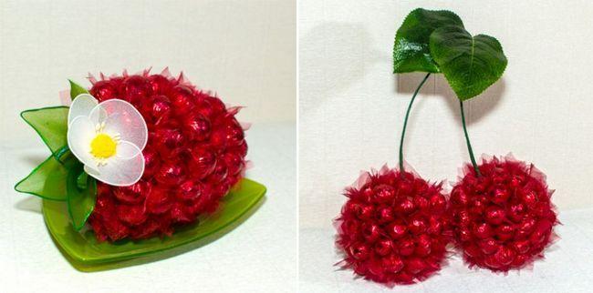 фрукти з цукерок