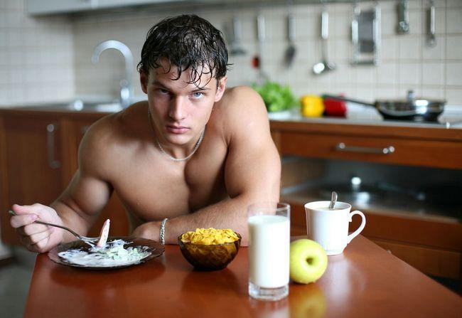 Правильна дієта для чоловіків спортсменів