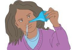 Користь морської води для промивання носа