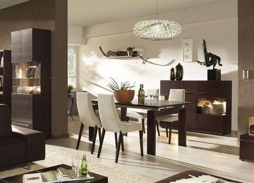 Дизайн їдальні вітальні