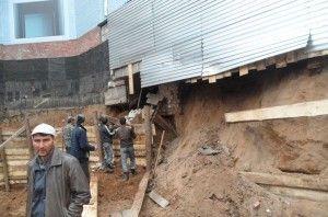 Незаконне будівництво в центрі пермі призвело до сумних наслідків