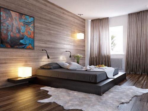 Приліжкові килимки в інтер`єрі спальні: затишно ногам, приємно очам
